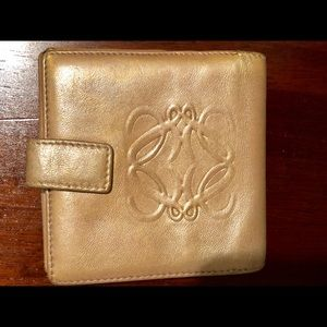 Accessories - Loewe gold wallet